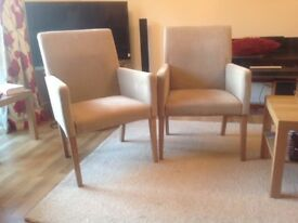 Two NEXT Dining/easy chairs.