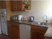 Solid oak kitchen + appliances