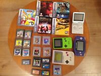 Gameboy consoles and games - various prices all in perfect working order