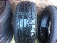 car tyre run flats 4 tyres 205/45/17 v
