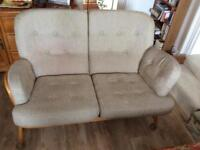 ERCOL CUSHIONS TO FIT ERCOL JUBILEE. 2-SEATER SETTEE and ONE CHAIR