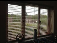 Wooden blinds £20ono (brown blind stock photo)