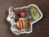 Scooby doo Wilton cake tin