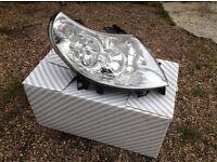 Headlights for Fiat Citroen Peugeot van