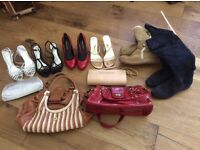 Boots, shoes, flat and heeled