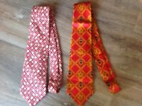 2 x Christian Lacroix Ties