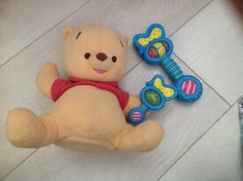 Musical Winnie the Pooh Shake Rattle £4