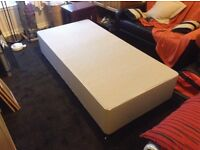 Single bed frame and mattrase - new