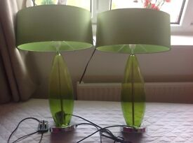 2 next table lamps £12.50 each or both for £20.00