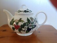 Portmeirion Holly and Ivy Teapot