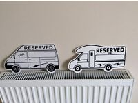 Motorhome pitch markers