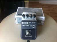 guitar/keyboard/vocal digital delay pedal