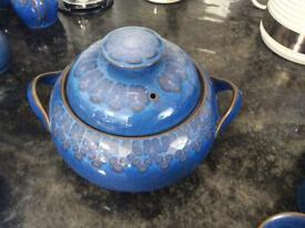 Two veggie tureens Denby excellent price.