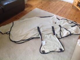 """Cream fly rug to fit 13.2hh - 14.2hh (5'9"""") rug"""