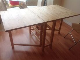 IKEA NORDEN drop leaf table and chairs