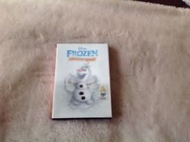 Frozen Sing A Long DVD