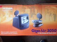 Giga Air 3050 2.4GHz b/w wireless security system. Never removed from box!