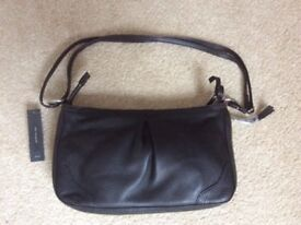 Marks and Spencer Autograph real leather handbag (new)