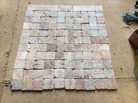 100 x100mm travertine wall tiles