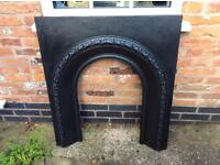 Cast Iron Fire Surround (Early Victorian?)