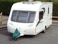 Sterling Europa 460 Lux, 2 berth touring caravan, 2010