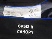 Oasis 8 canopy (compatible with Frontier 8)