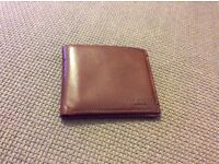 Ted Baker Brown Leather Wallet - Like New