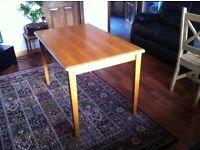 Wooden dining table 50£