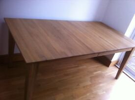 Extending To 240cm Oak Dining Room Table