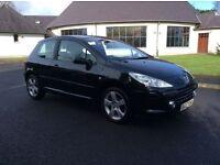 2007 Peugeot 307 1.6 Sport Full Years Mot Full Leather 90k only £2250