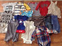Boys Clothing Bundle 3-6 months-Next, Converse, Gap, H&M & Little Club