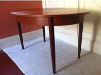 Restored Vintage Oval Dining Table / Can Deliver