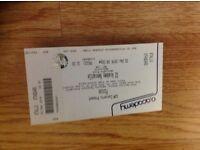Pixies Ticket Newcastle Standing