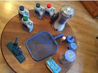 Pool Kit / Pump / Chemicals / Filters / Skimmer