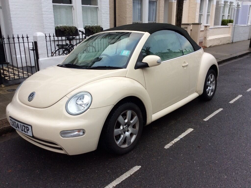 cream vw beetle convertible in hassocks west sussex gumtree. Black Bedroom Furniture Sets. Home Design Ideas