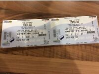 2 STATUS QUO Tickets for Disabled Seating
