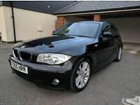 BMW 1 Series 120d sport black