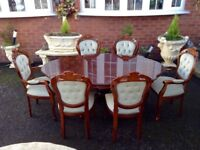 Italian Dining Suite, Mint Condition.