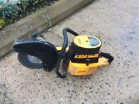 Partner K650 MARKII Petrol saw & 12 inch blade Max speed tool shaft 5100rpm Easy started very clean.