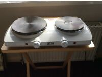 2 Plate Electric hotplate/trove.