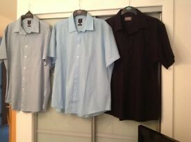 Gents shirts jumper and hoodys