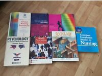 Selection of nursing books