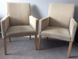 Comfy carver chairs