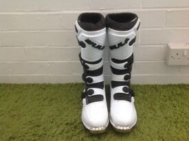 Wulfsport track star off road motorcycle boots nearly new size 10 uk