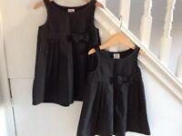 John Lewis School/ Nursery Grey Pinafore Dresses 3-4 Years