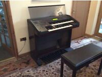 Yamaha Electrone EL-70B with stool and some music excellent condition