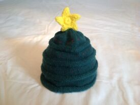 Mothercare Boys christmas tree hat 2 available, perfect for twins