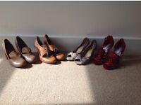 Bundle of Ladies Shoes Size 6