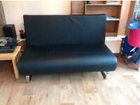 Dwell leather sofa bed