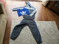 Adidas track suit with t-shirt